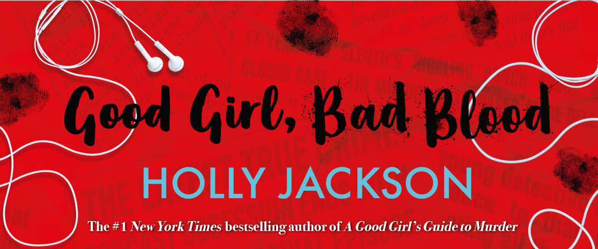 Website slider for Good Girl, Bad Blood by Holly Jackson