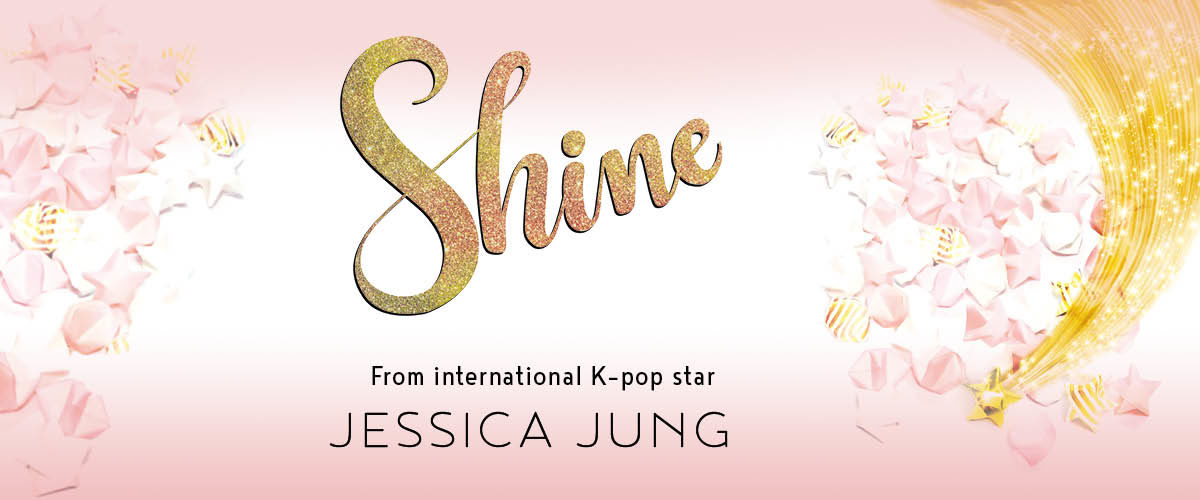 Website slider for Shine by Jessica Jung