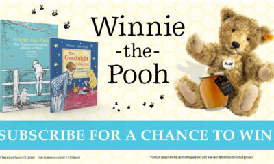 Winnie-the-Pooh Newsletter Subscribe for a chance to win