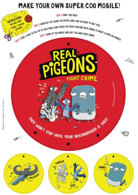 Real Pigeons Fight Crime – Super Coo Mobile -