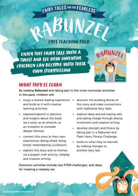 Rabunzel Teaching Resource and Activity Sheets -