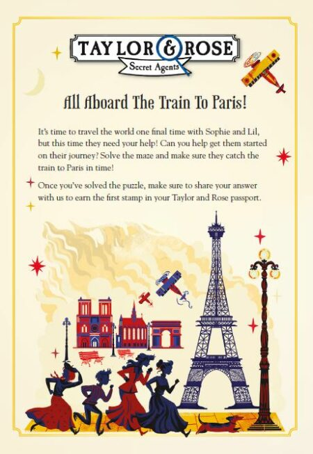 Visit Paris with Taylor and Rose -