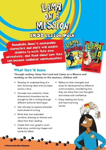 Llama Out Loud and Llama On a Mission – Lesson Plan and Worksheets -