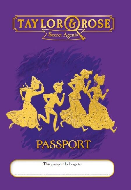 Make your own Taylor and Rose Passport -